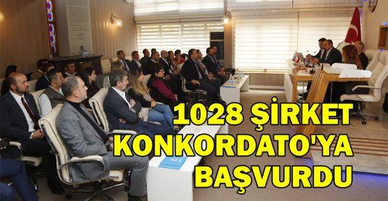 1028 şirket konkordatoya başvurdu