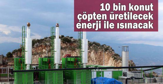 10 bin konut çöpten üretilecek enerji ile ısınacak