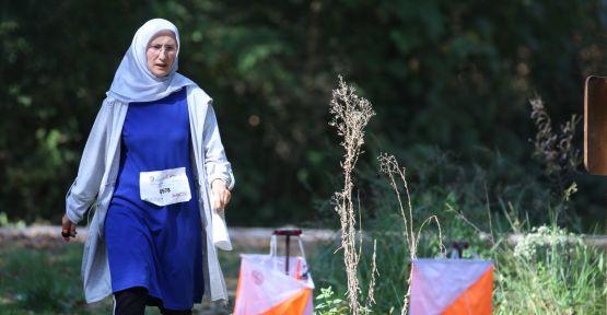 1. Kademe Oryantiring yarışı, Ormanya etabı nefes kesti