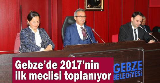 2017'nin ilk meclisi toplanıyor
