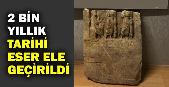 2 bin yıllık tarihi eser ele geçirildi