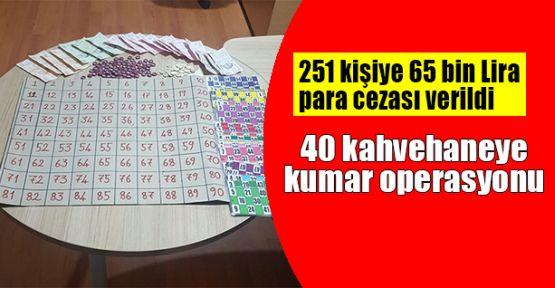 40 kahvehaneye kumar operasyonu