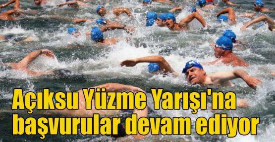 Açıksu Yüzme Yarışı'na başvurular devam ediyor