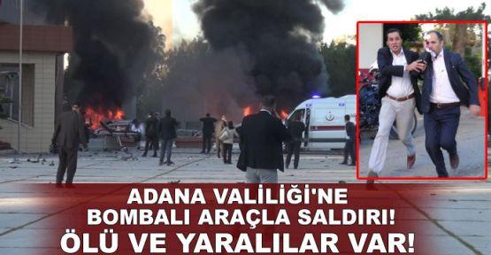 Adana Valiliği'ne bombalı araçla saldırı!.. Ölü ve yaralılar var!