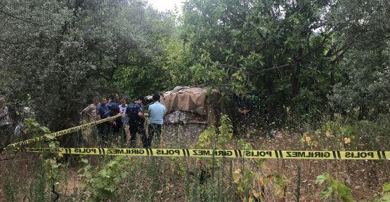 Ağaçta boynu dalların arasına sıkışan çiftçi öldü