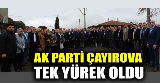 AK Parti Çayırova tek yürek