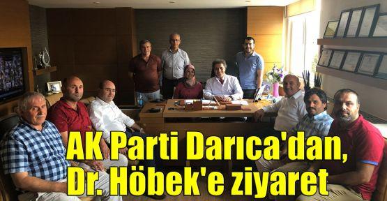 AK Parti Darıca'dan, Höbek'e ziyaret