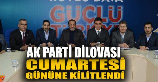 AK Parti Dilovası Cumartesi gününe kilitlendi