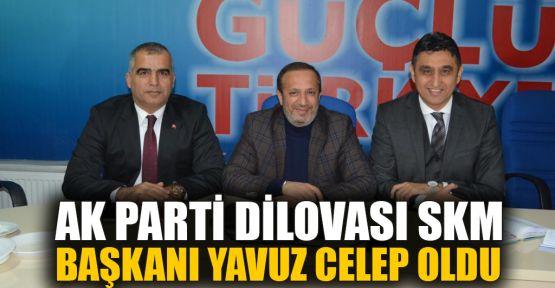 AK Parti Dilovası SKM Başkanı Yavuz Celep oldu