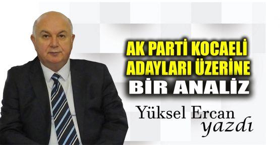 AK Parti Kocaeli adayları üzerine bir analiz