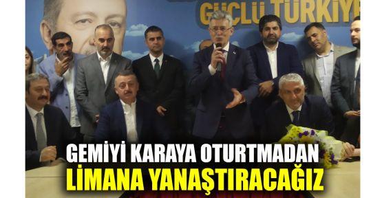 AK Parti Kocaeli İl Başkanlığı'na Ellibeş getirildi