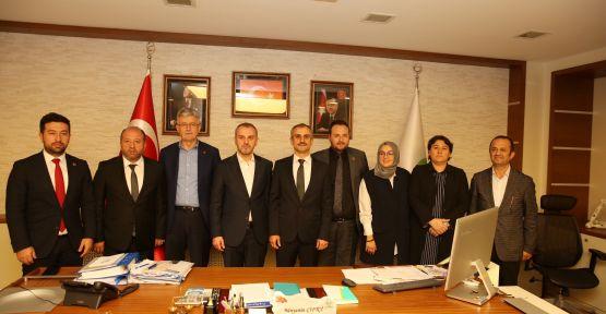 AK Parti Teşkilat Başkanı Kandemir'den, Başkan Çiftçi'ye ziyaret