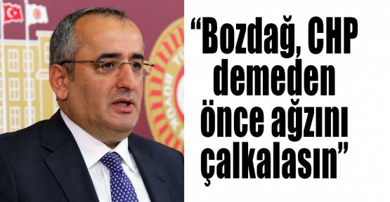 Akar: Bozdağ, CHP demeden önce ağzını çalkalasın