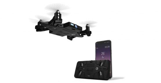 Akıllı telefon kılıfına gizli drone Selfly, Türkiye'de