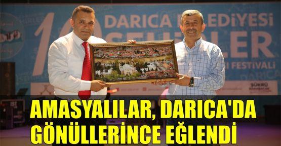 Amasyalılar, Darıca'da gönüllerince eğlendi