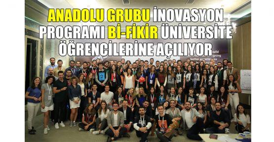 Anadolu Grubu İnovasyon Programı Bi-Fikir üniversite öğrencilerine açılıyor