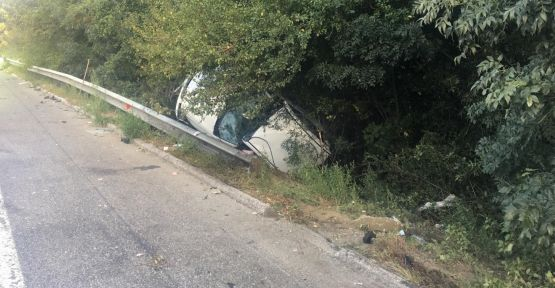 Anadolu Otoyolu'nda trafik kazası: 1 ölü, 9 yaralı