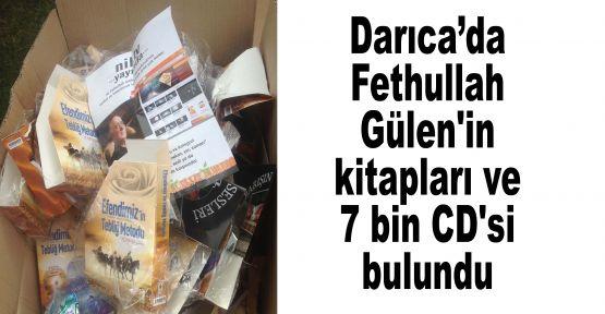 Darıca'da Fethullah Gülen'in kitapları ve 7 bin CD'si bulundu