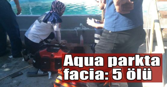 Aqua parkta facia: 5 ölü