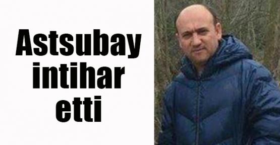 Astsubay intihar etti