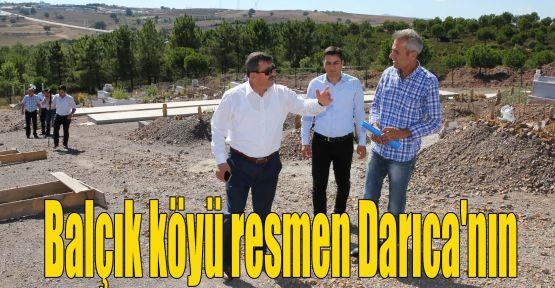 Balçık köyü resmen Darıca'nın