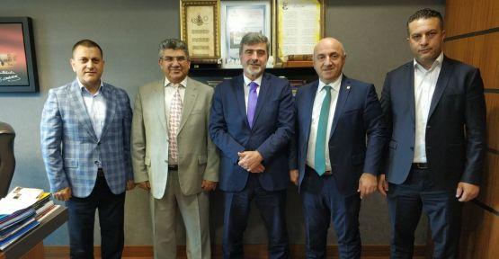 Başkan Bıyık'tan Ankara ziyareti