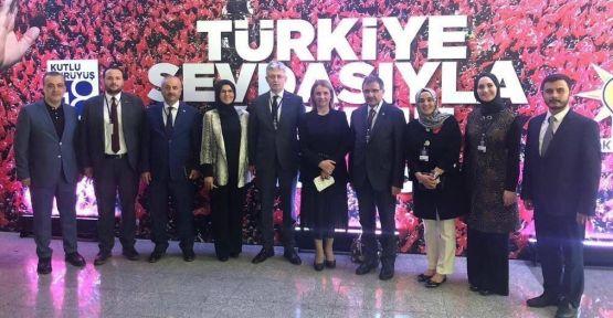 Başkan Büyükgöz Ankara'da