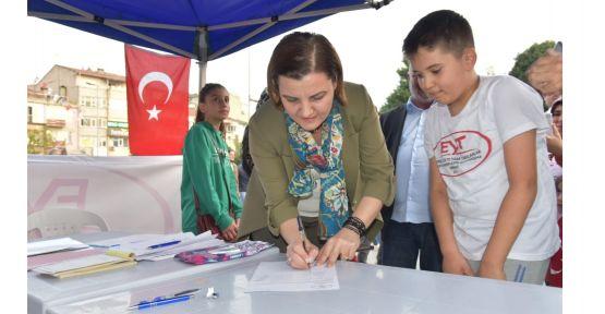 Başkan Hürriyet'ten, EYT'lilere destek