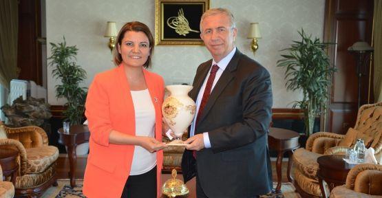 Başkan Hürriyet'ten, Mansur Yavaş'a hayırlı olsun ziyareti