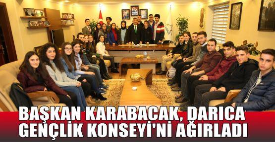 Başkan Karabacak, Darıca Gençlik Konseyi'ni ağırladı