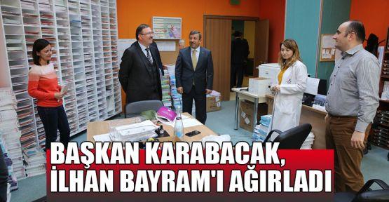 Başkan Karabacak, İlhan Bayram'ı ağırladı
