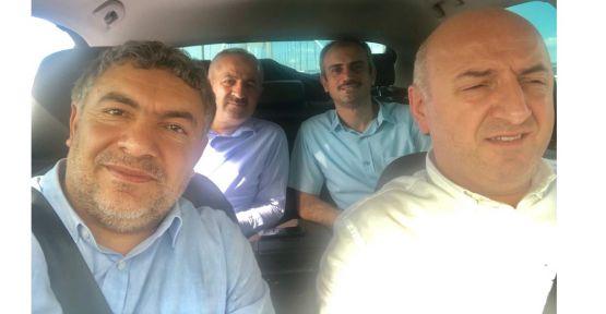 Başkanlar Bursa'ya gitti