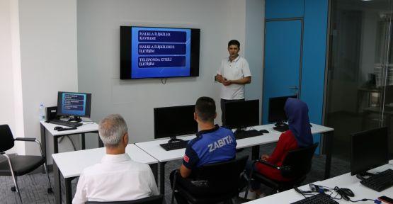 Belediye personeline 153 eğitimi verildi