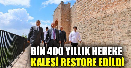 Bin 400 yıllık Hereke Kalesi restore edildi