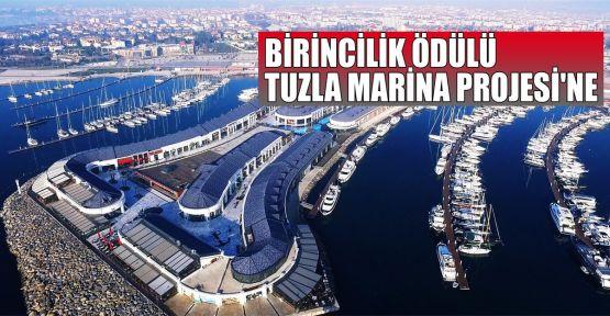 Birincilik ödülü Tuzla Marina projesine