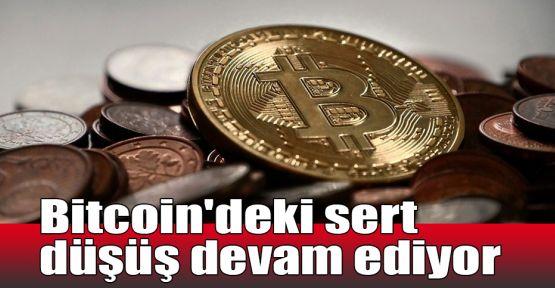 Bitcoin'deki sert düşüş devam ediyor