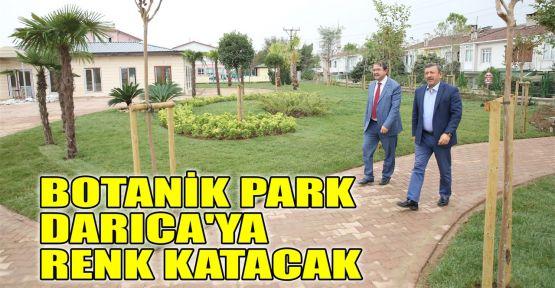 Botanik Park Darıca'ya renk katacak
