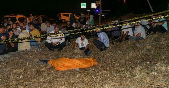 Bozulan aracından inen sürücüye başka bir araç çarptı:  1 ölü