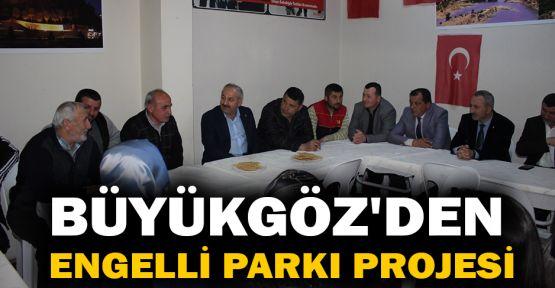 Büyükgöz'den Engelli Parkı projesi