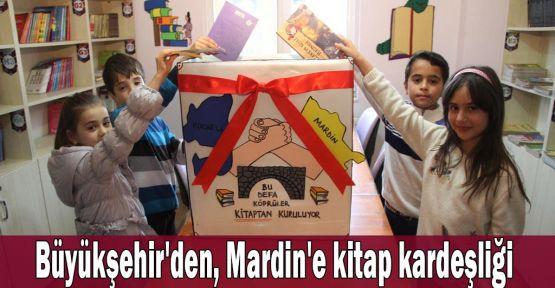 Büyükşehir''den Mardin''e kitap kardeşliği