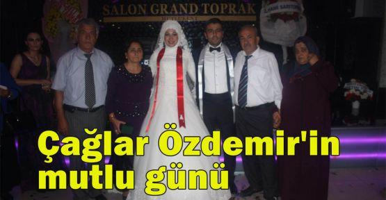 Çağlar Özdemir'in mutlu günü