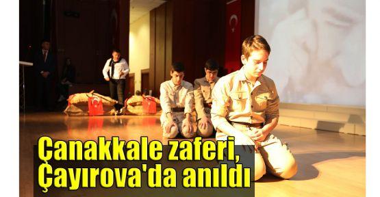 Çanakkale zaferi, Çayırova'da anıldı