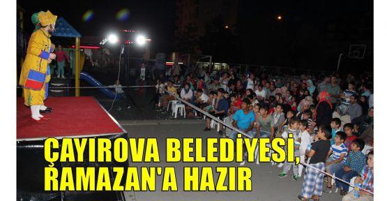 Çayırova Belediyesi, Ramazan'a hazır