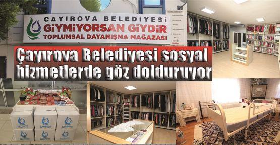 Çayırova Belediyesi sosyal hizmetlerde göz dolduruyor