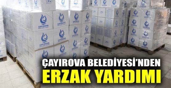 Çayırova Belediyesi'nden İhtiyaç sahiplerine erzak yardımı