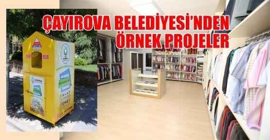 Çayırova Belediyesi'nden örnek projeler