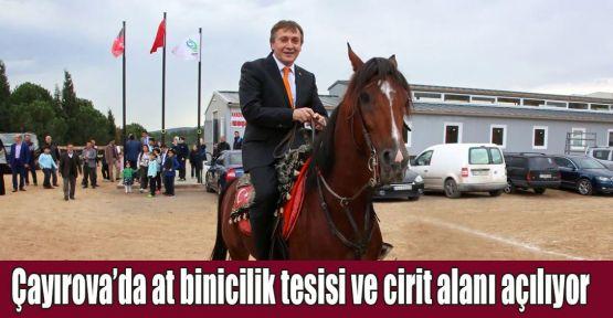 Çayırova'da at binicilik tesisi ve cirit alanı açılıyor