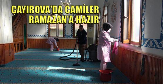 Çayırova'da camiler Ramazan'a hazır