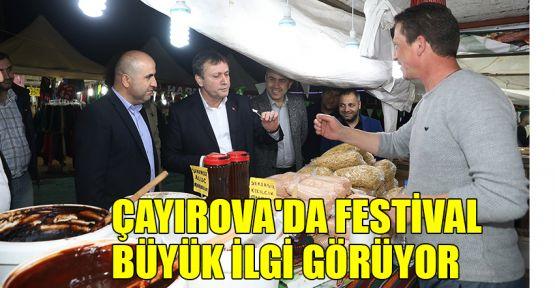 Çayırova'da festival büyük ilgi görüyor