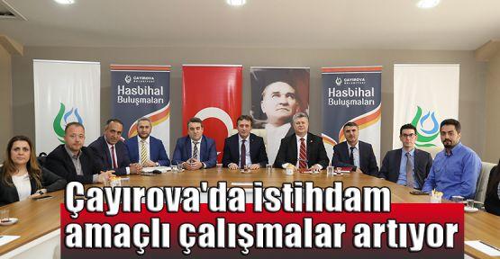 Çayırova'da istihdam amaçlı çalışmalar artıyor
